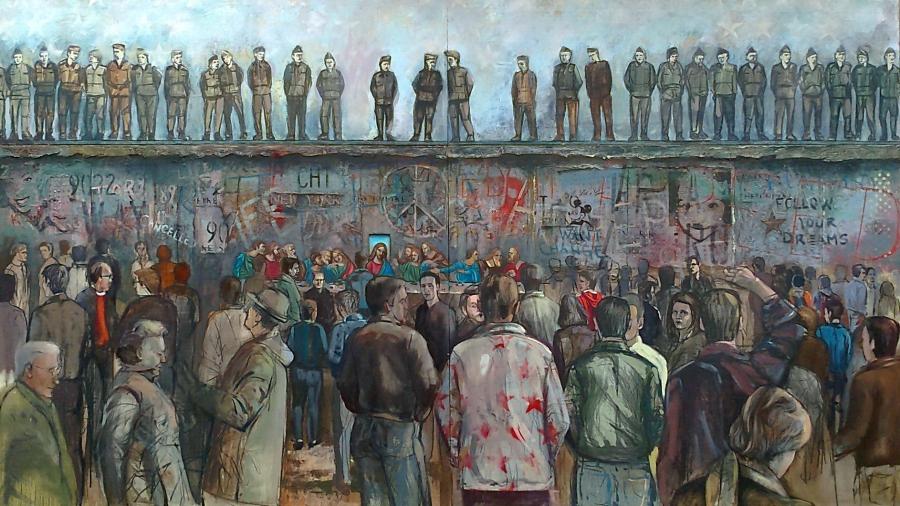 Milan Vukašinovic ,,Berlinski zid,,            300x170
